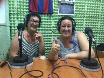 Montse Vallejos i Marta Sivestre